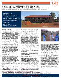Kyengera Women's Hospital