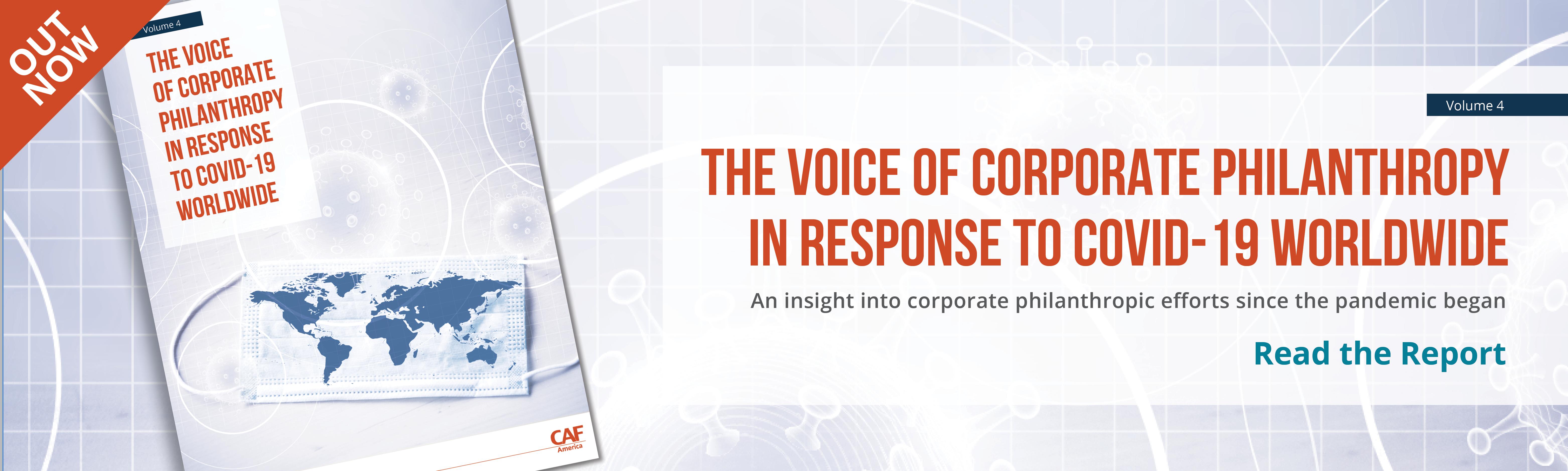 Voice of Corporate Philanthropy volume 4 ad