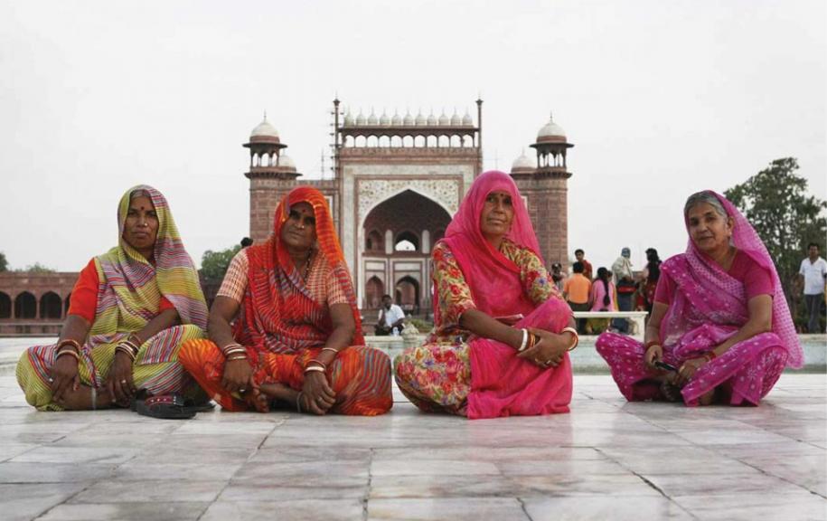 Women in New Delhi