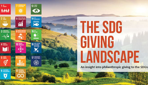 SDG giving Landscape banner
