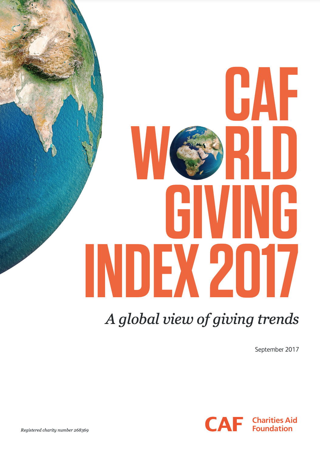 World Giving Index 2017