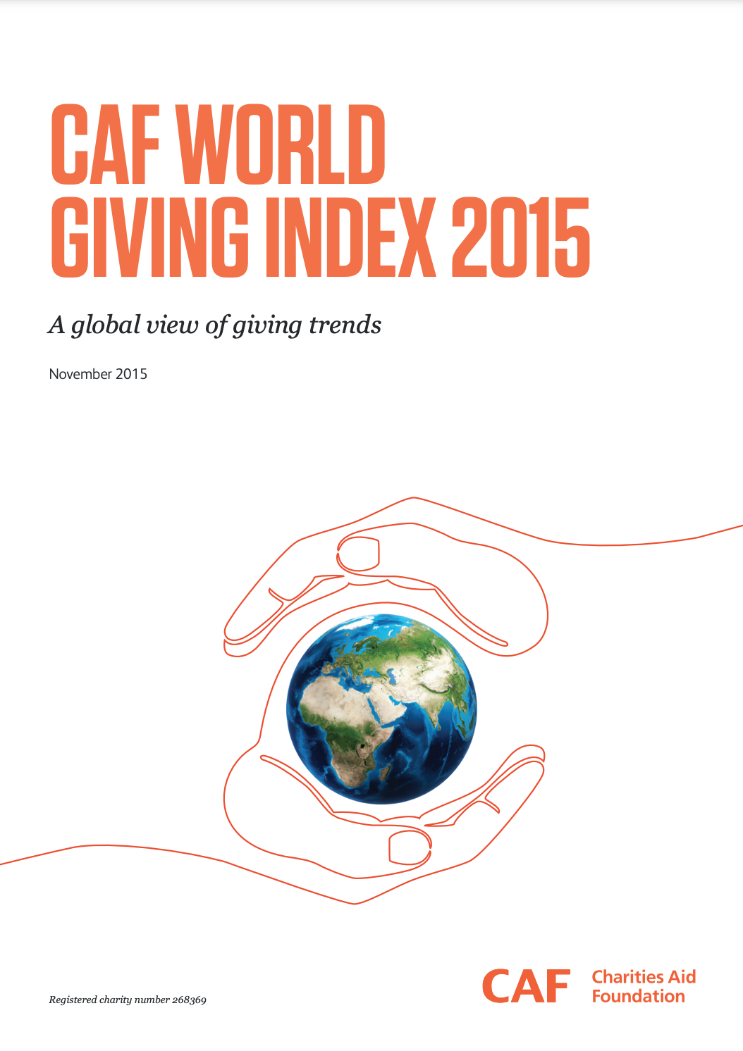 World Giving Index 2015