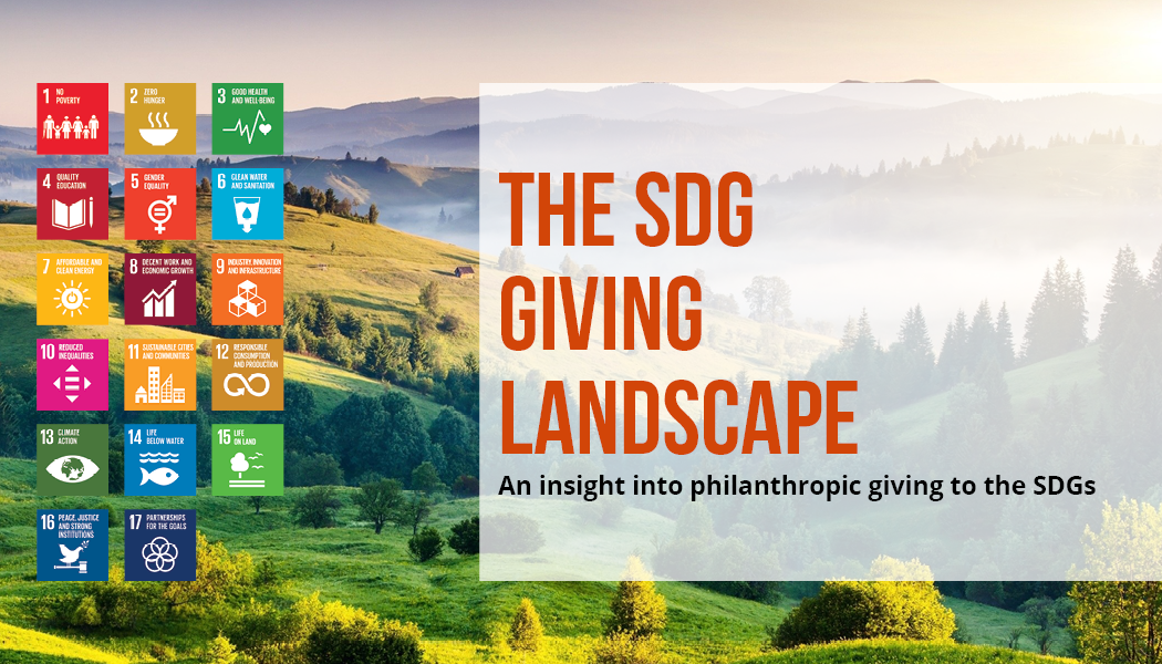The SDG Giving Landscape report banner