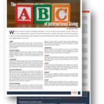 The ABC of International Giving