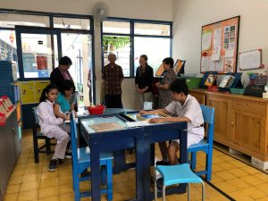 Classroom in Indonesia with Jessie Krafft